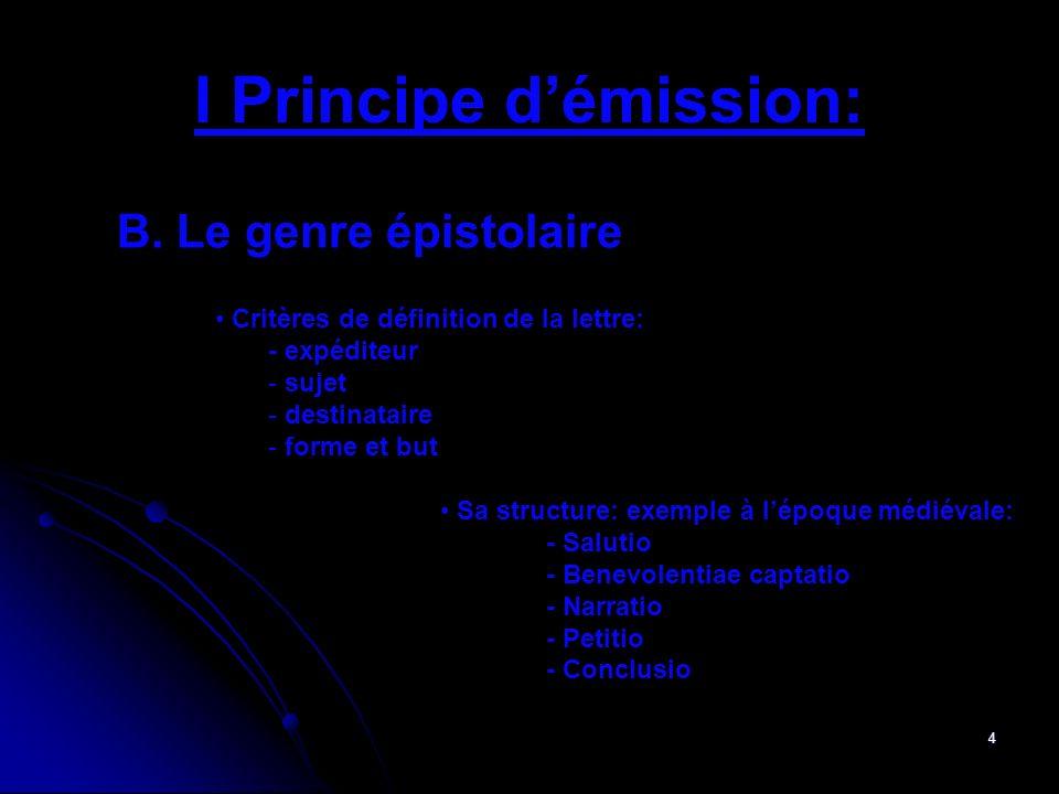 5 II Les enjeux A.