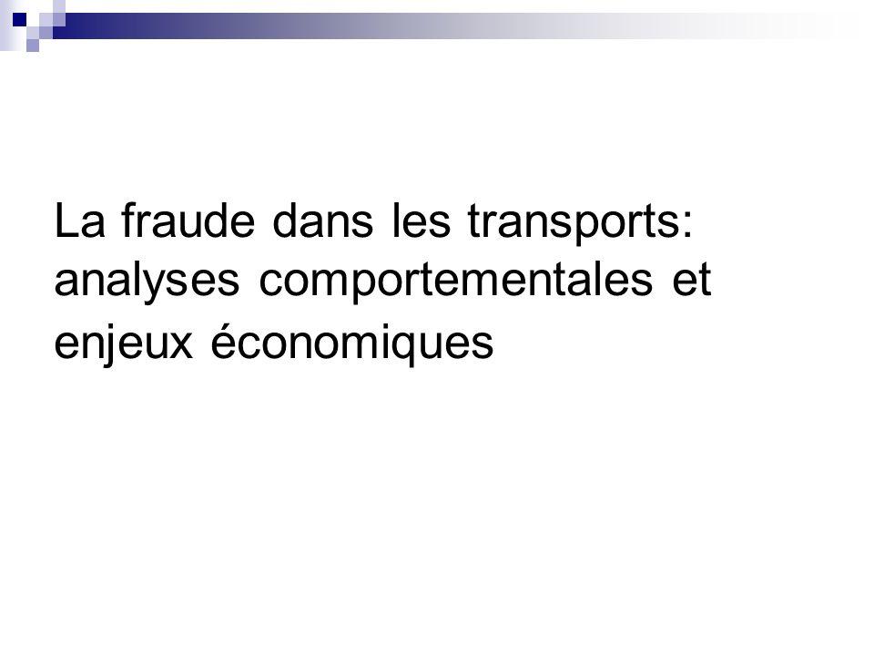 Sommaire I) Le coût du transport A) Pourquoi existe-t-il un coût du transport .