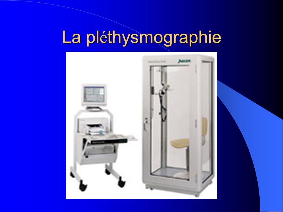 La pl é thysmographie