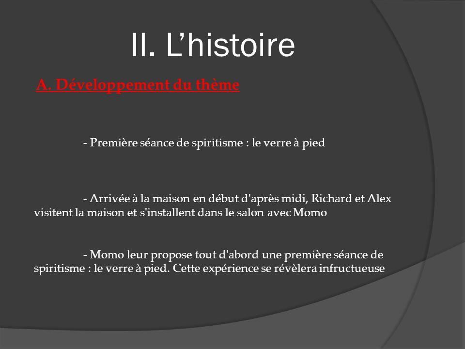 II. Lhistoire D. Exemples décran En pause