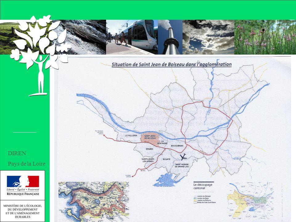 Journée d échanges 17/10/2007 Un patrimoine naturel remarquable Natura 2000 : une Zone de Protection Spéciale et un Site dImportance Communautaire « lestuaire de la Loire » 1 ZICO 1 ZNIEFF de type 2 et 2 ZNIEFF de type 1 DIREN Pays de la Loire