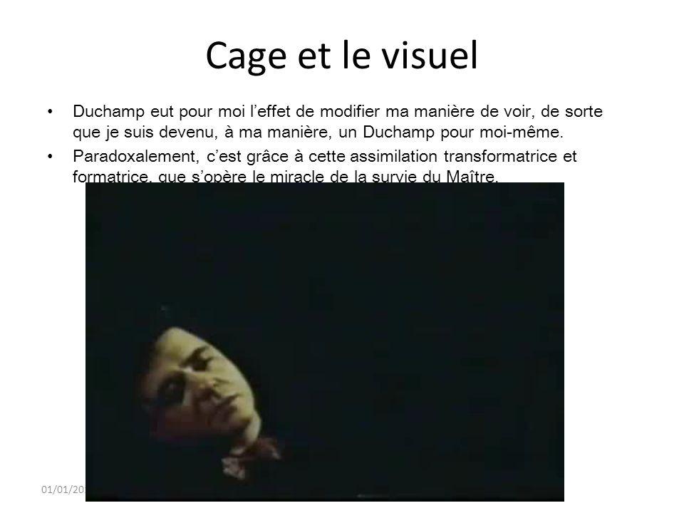 01/01/2014 14 Cage et Marcel Duchamp « nu descendant un escalier »