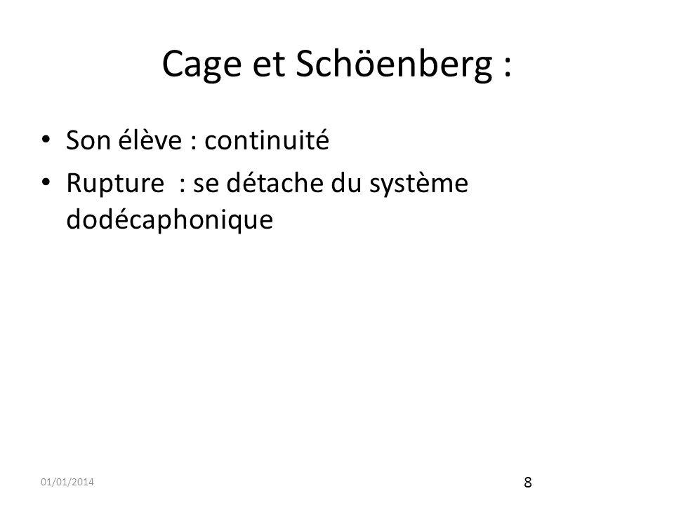 01/01/2014 9 Cage et Jackson Pollock