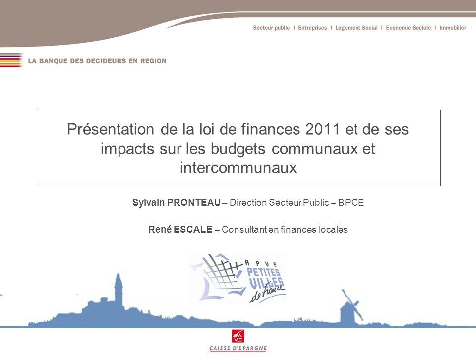 Présentation du PLF 2011 Extrait du rapport de M.