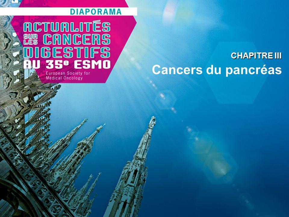 Cancers du pancréas CHAPITRE III
