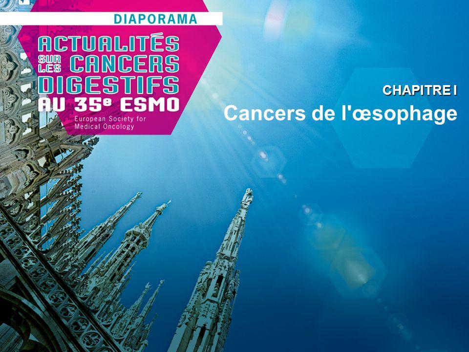 Cancers de l'œsophage CHAPITRE I