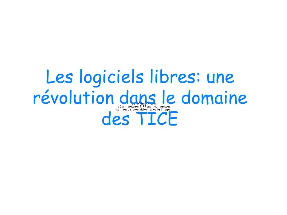 Les logiciels libres: une révolution dans le domaine des TICE