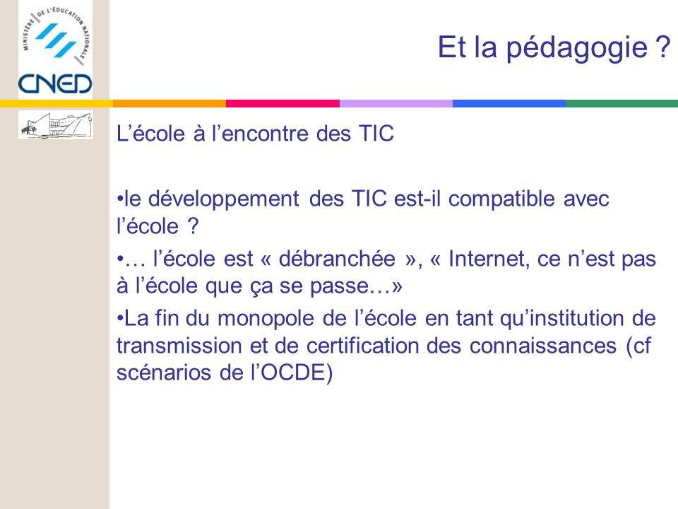 Lécole à lencontre des TIC le développement des TIC est-il compatible avec lécole .