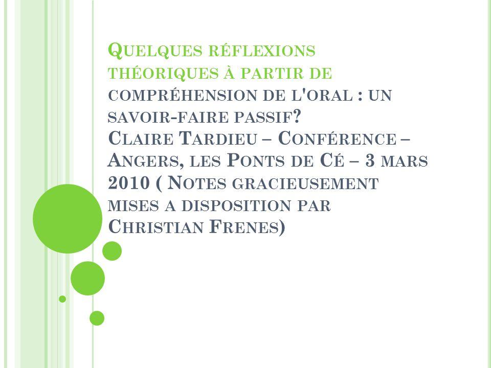 P ORTFOLIO, DIDIERCRDP B ASSE - N ORMANDIE, 2007 Quelles stratégies en tirer .