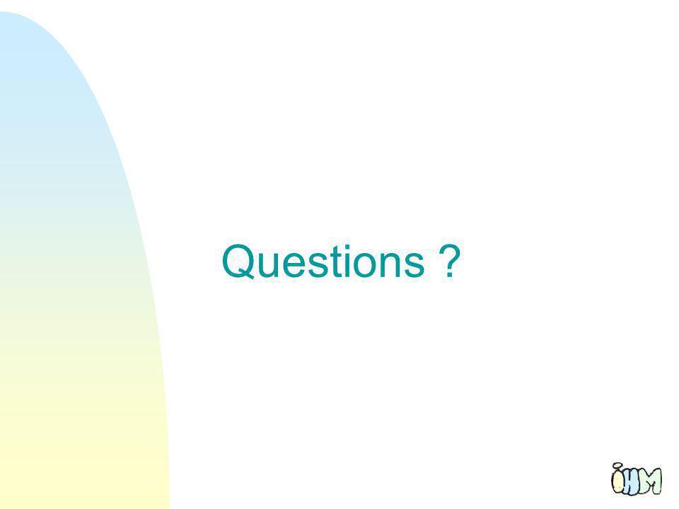 61 Questions ?