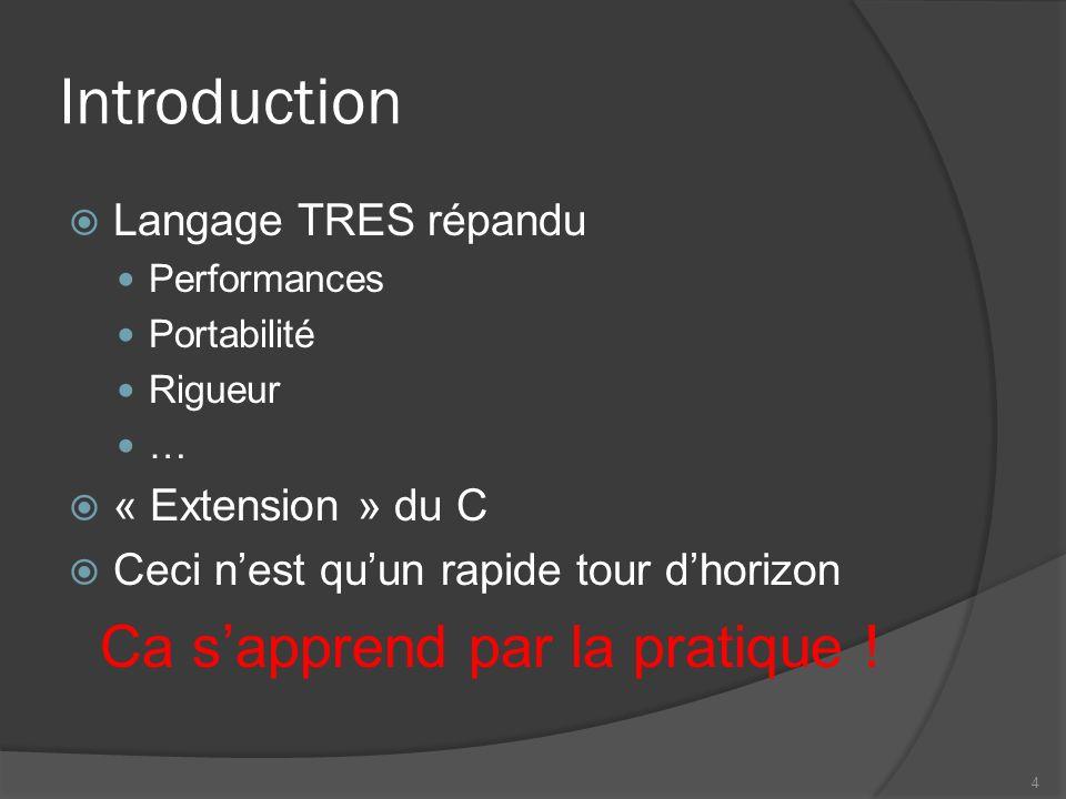 Namespaces Vive les espaces de nom .