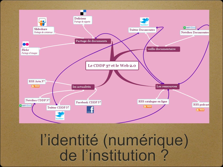 lidentité (numérique) de linstitution