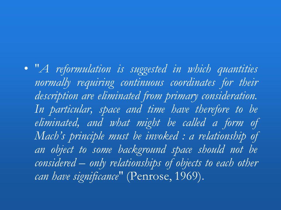 Temps et évolution en RG : la deuxième relativisation –En relativité générale, ce qui est mesuré nest jamais lévolution selon un certain temps t mais lévolution relative de deux variables dynamiques –« In classical GR, there is no meaning to R(t).