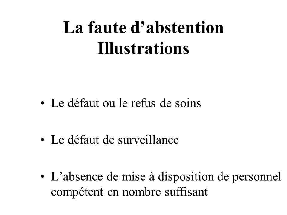 Le défaut de surveillance COUR.DE CASSATION (ASS.