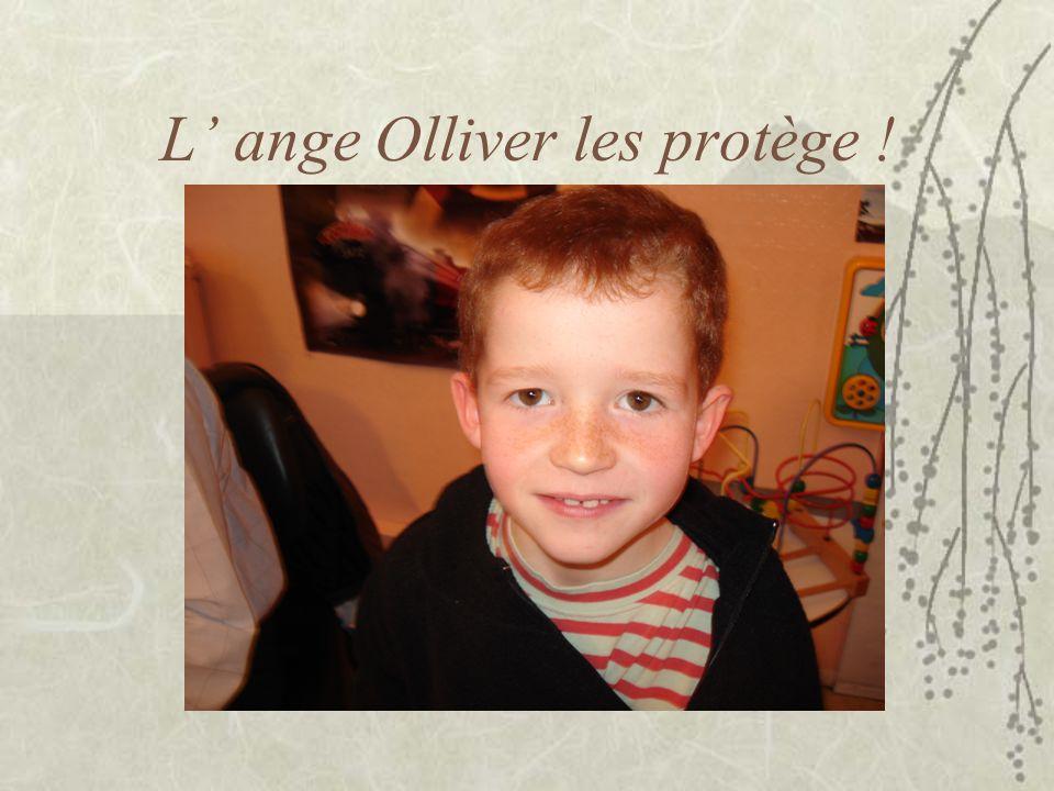 L ange Olliver les protège !