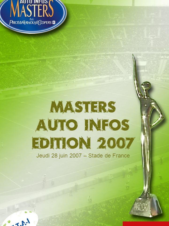 Masters Auto Infos Edition 2007 Jeudi 28 juin 2007 – Stade de France