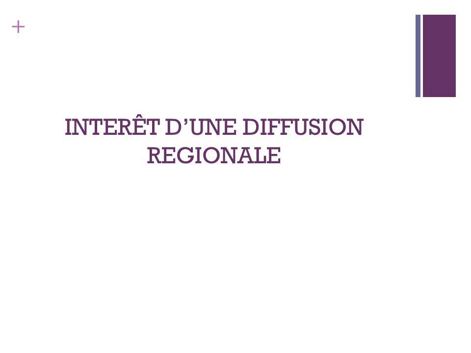 + INTERÊT DUNE DIFFUSION REGIONALE