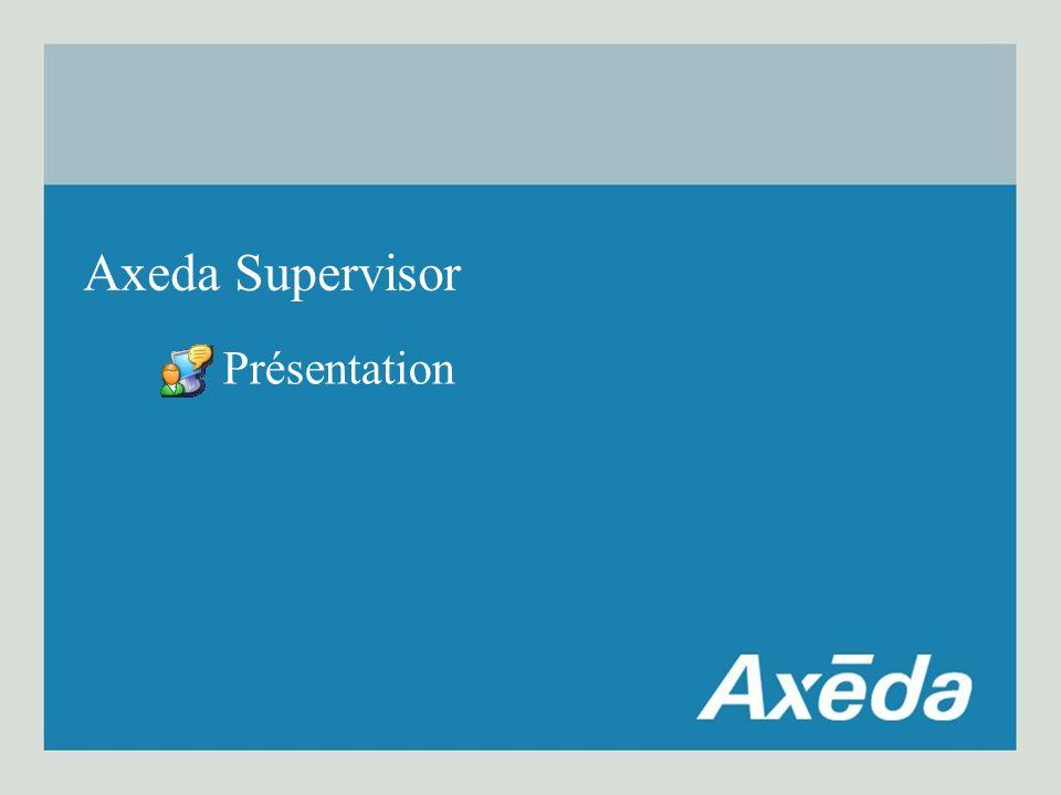 Présentation Axeda Supervisor
