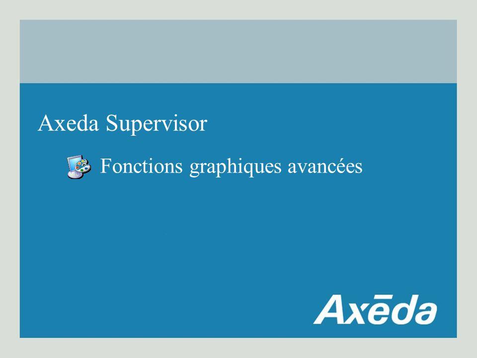 Fonctions graphiques avancées Axeda Supervisor
