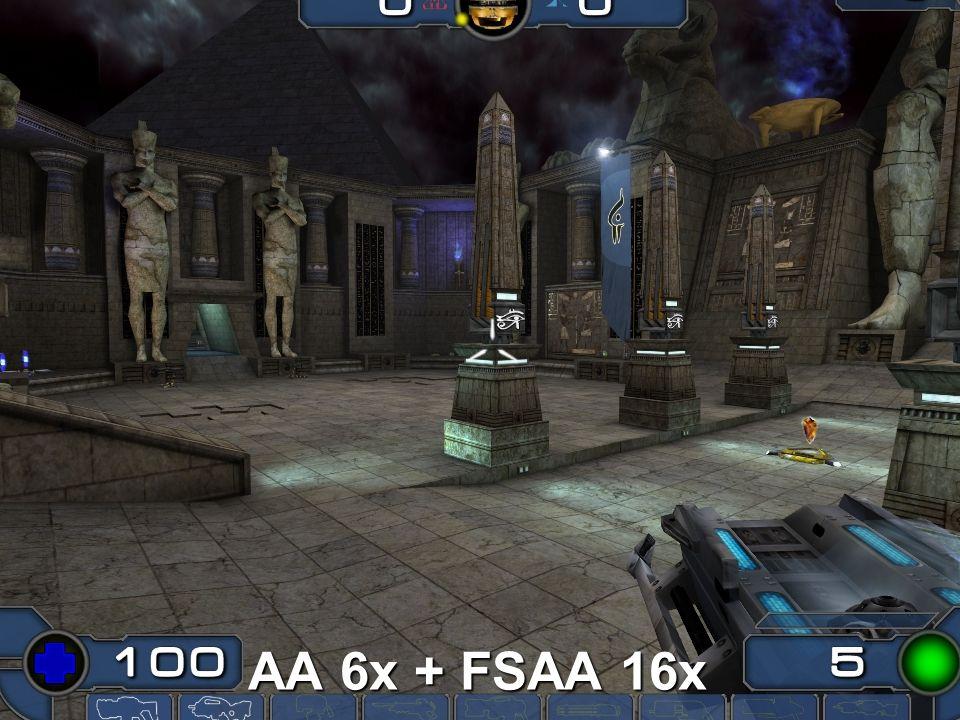 AA 6x + FSAA 16x