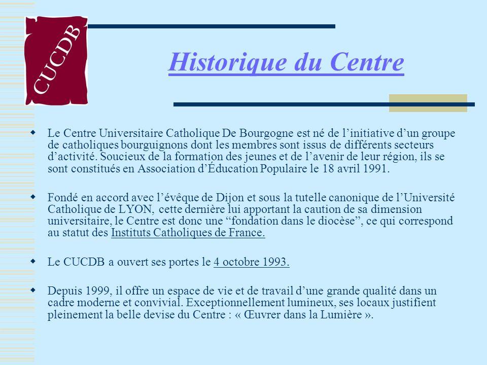 Faire renaître en Bourgogne un centre de rayonnement culturel chrétien de type universitaire, ouvert à tous ceux qui veulent sassocier au projet.