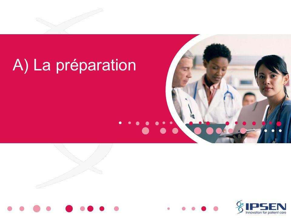 A) La préparation