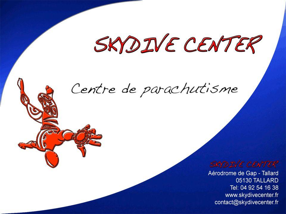 PARTENARIAT CE PRESENTATION NOS PRODUITS CONTACTS Sommaire 12SKYDIVE CENTER SARL