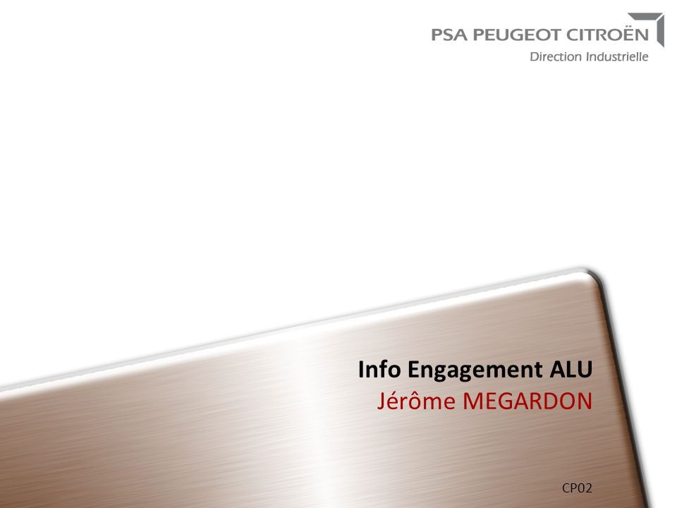 Info Engagement ALU Jérôme MEGARDON CP02