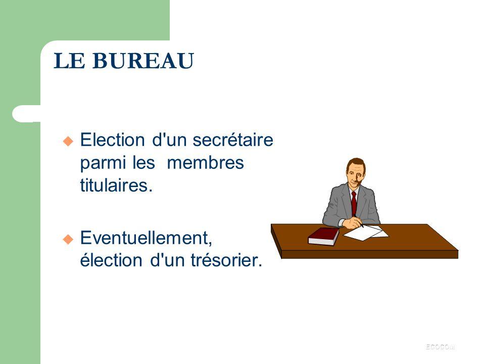 FONCTIONNEMENT 1 Le comité est doté de la personnalité morale. 1 Le comité peut engager sa responsabilité contractuelle et sa responsabilité délictuel