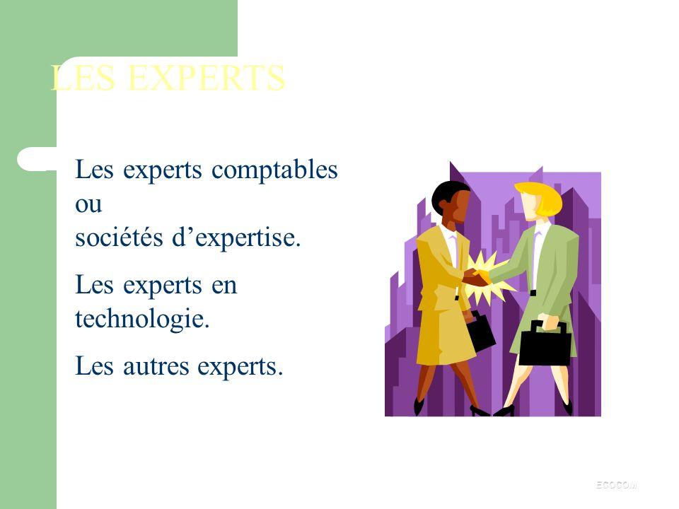 . Personnes présentes aux réunions : les membres du comité, les experts assistant le comité, d'autres personnes invitées par le C.E. ECOCOM