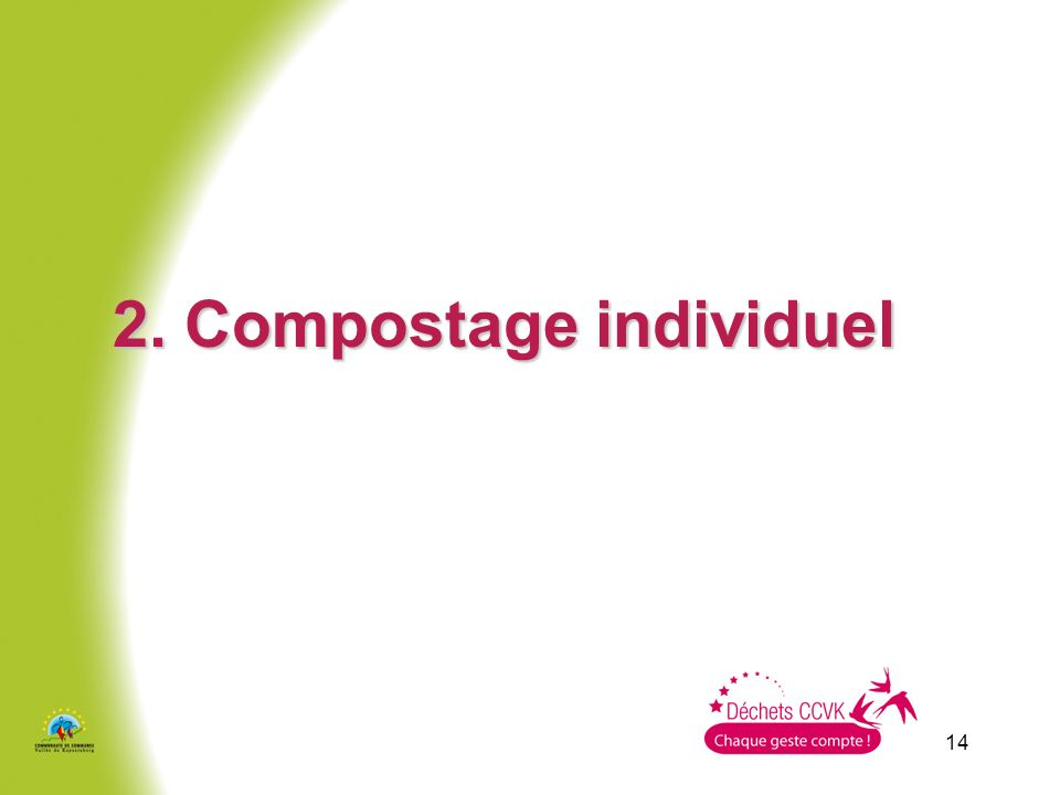 14 2. Compostage individuel
