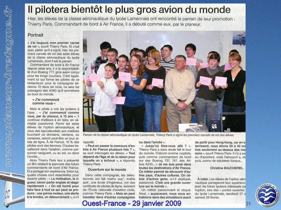 Comité Régional de Vol à Voile de Bretagne 31