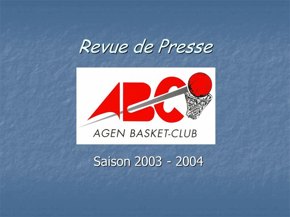 La reprise Le Petit Bleu 20 Août 2003 NM3