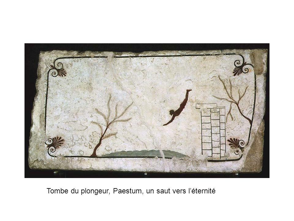 Tombe du plongeur, Paestum, un saut vers léternité