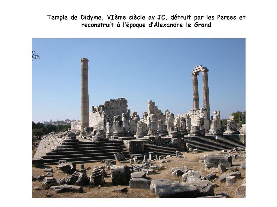 Temple dApollon, Didyme, colonne dordre ionique