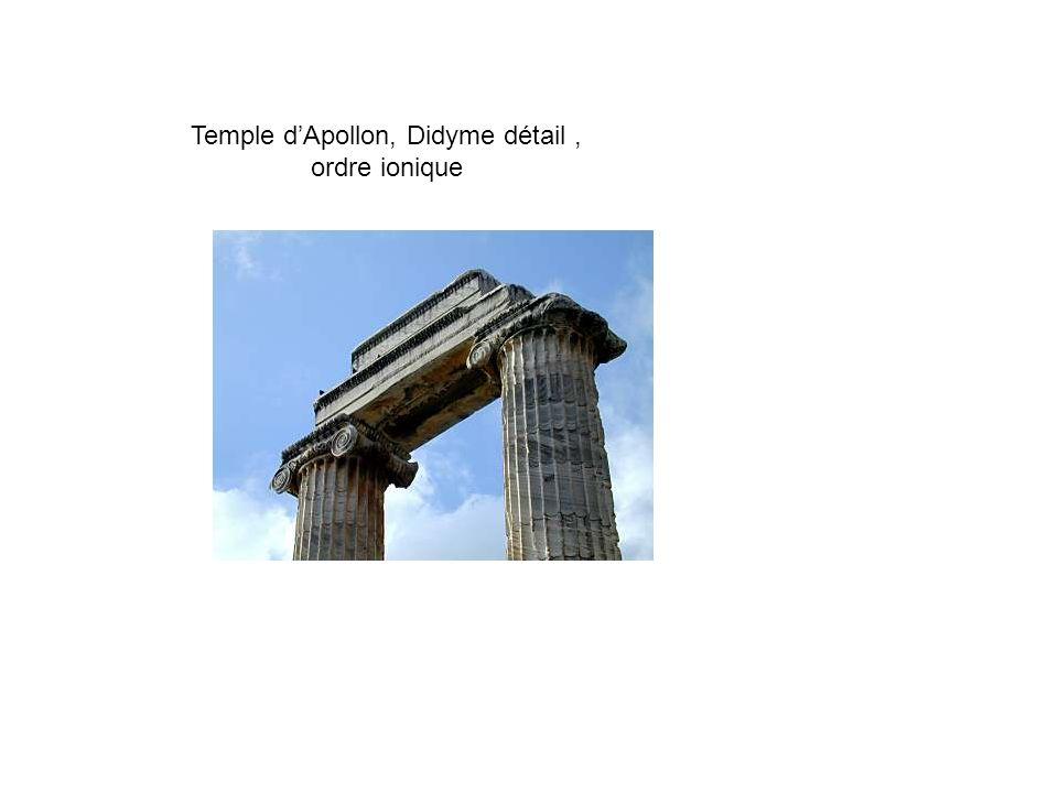 Le temple grec Cest à lépoque archaïque que l art enfin connaît un prodigieux essor.