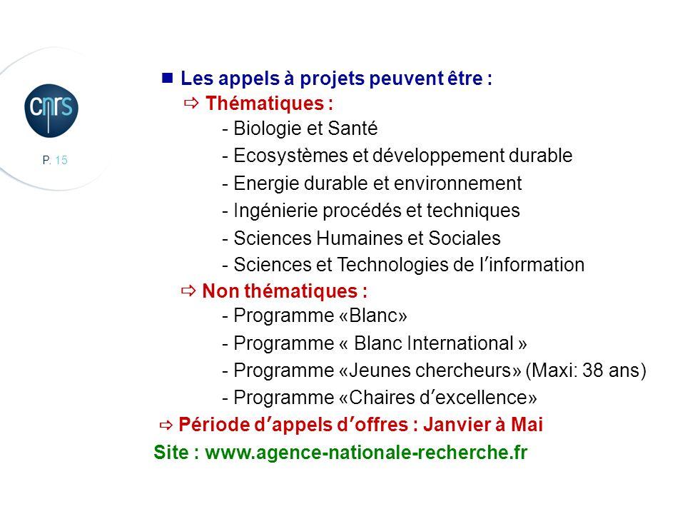 CBMN, Chimie et Biologie des Membranes et des Nanoobjets Les appels à projets peuvent être : Thématiques : - Biologie et Santé - Ecosystèmes et dévelo
