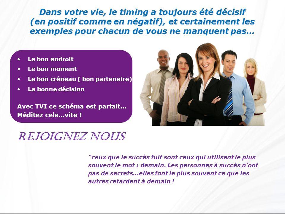 Pourquoi rejoindre TVI.1. Une compagnie stable et saine financièrement 2.