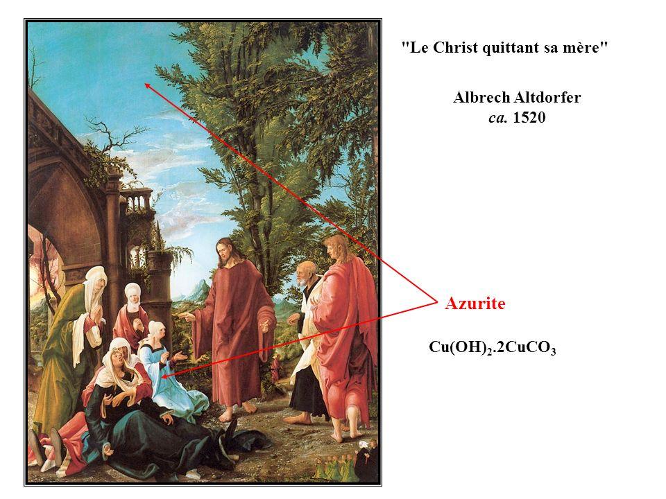 Azurite Albrech Altdorfer ca. 1520