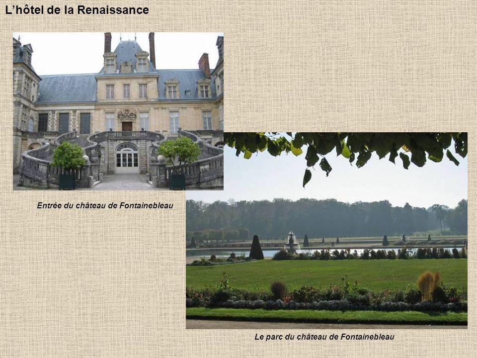 Hôtel Babou de la Bourdaisière à Tours Copiant le style royal, les gens les plus fortunés se font bâtir des hôtels particuliers, cest-à-dire de vastes demeures construites entre cour et jardin.