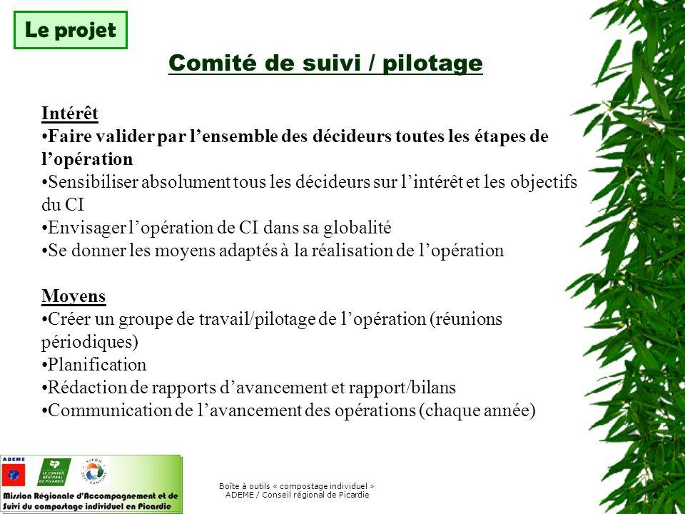 Boîte à outils « compostage individuel » ADEME / Conseil régional de Picardie Choix du matériel / méthodes Proposition de composteurs ou pas .