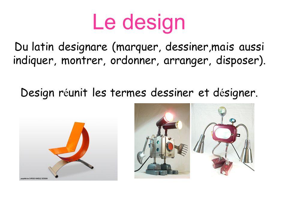 Le design nest pas seulement une forme, mais de la matière, de la couleur, une texture.