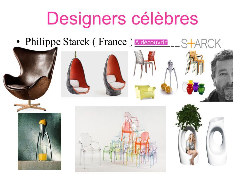Charles et Ray Eames ( USA –années 50) Designers célèbres