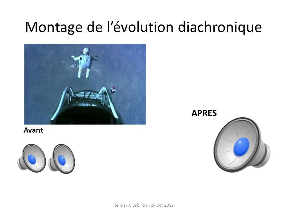 Montage de lévolution diachronique Avant APRES Reims - J. Sabiron - 24 oct 2012