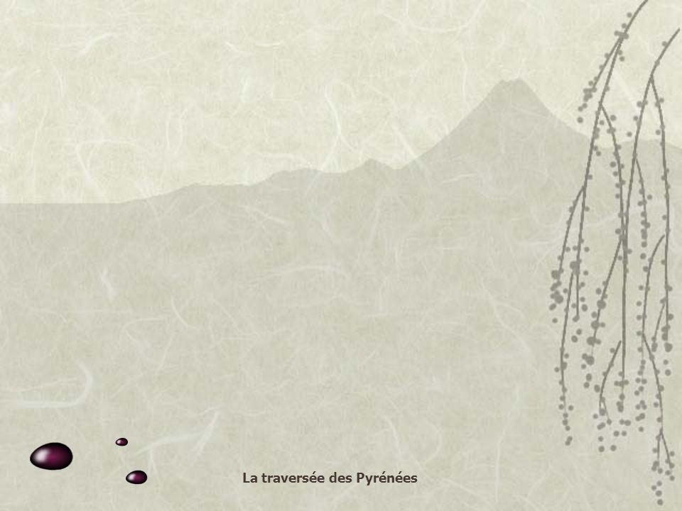 La traversée des Pyrénées