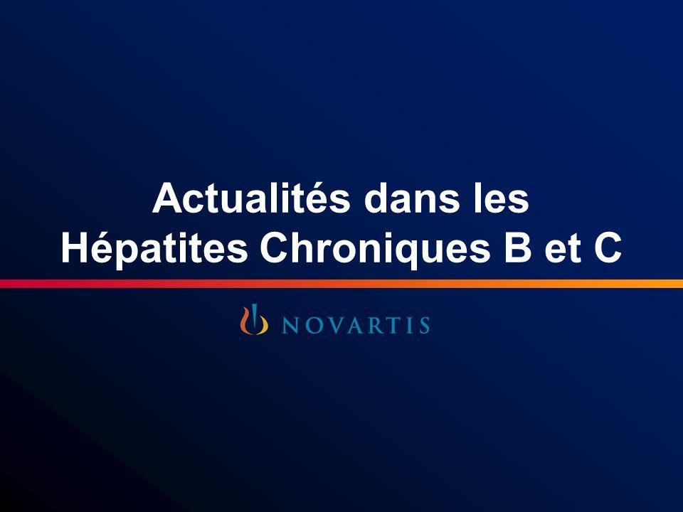 Actualités dans les Hépatites Chroniques B et C Questions/Réponses
