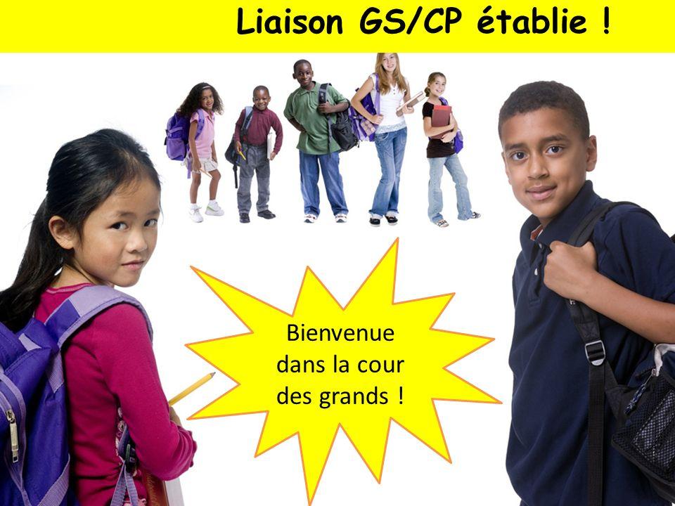 La liaison GS/CP ? - Liste du matériel à prévoir pour le CP donnée en fin de GS - Réunion avec les 2 enseignant(e)s pour les parents de GS - Accueil d