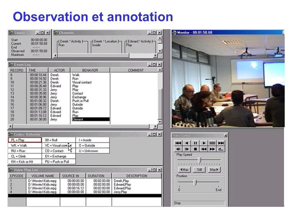 Observation et annotation