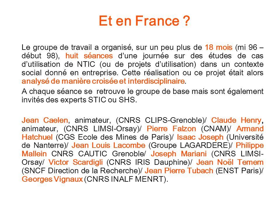 Les huit cas 1.SNCF, Le système ASTREE 2. SNCF, Le système SOCRATE 3.