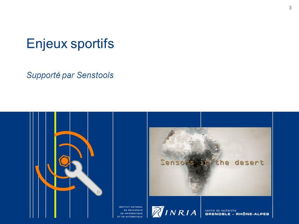 3 Enjeux sportifs Supporté par Senstools
